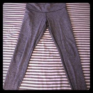 Lululemon gray tights! Full length, Size 10.